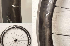 Carbon Wheel Repair Collage